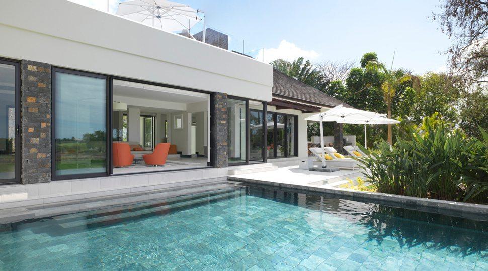 private suite at Four Seasons Mauritius