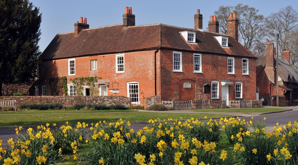 Jane Austen's house in England