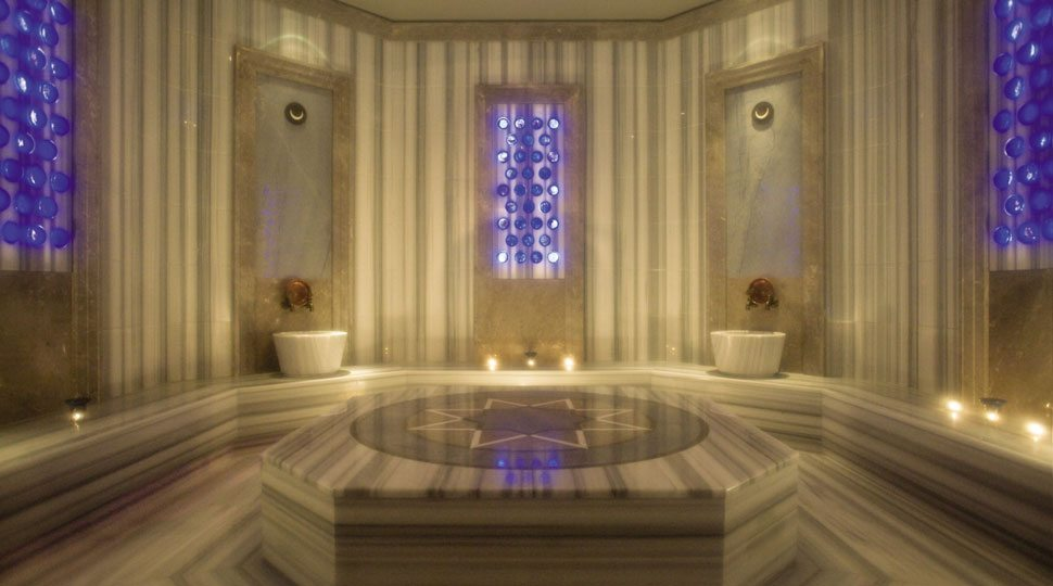 The spa inside Four Seasons Istanbul Hotel.
