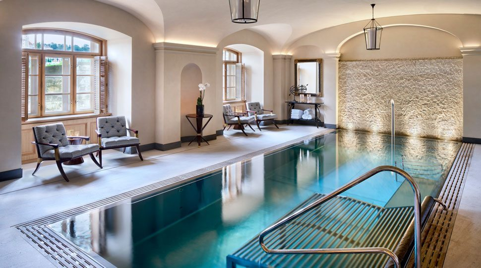 The spa at the Four Seasons Prague