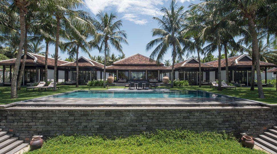 A four-bedroom pool villa