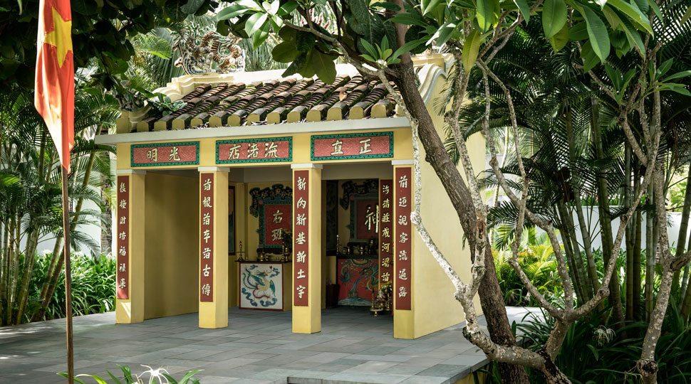 An altar in Vietnam