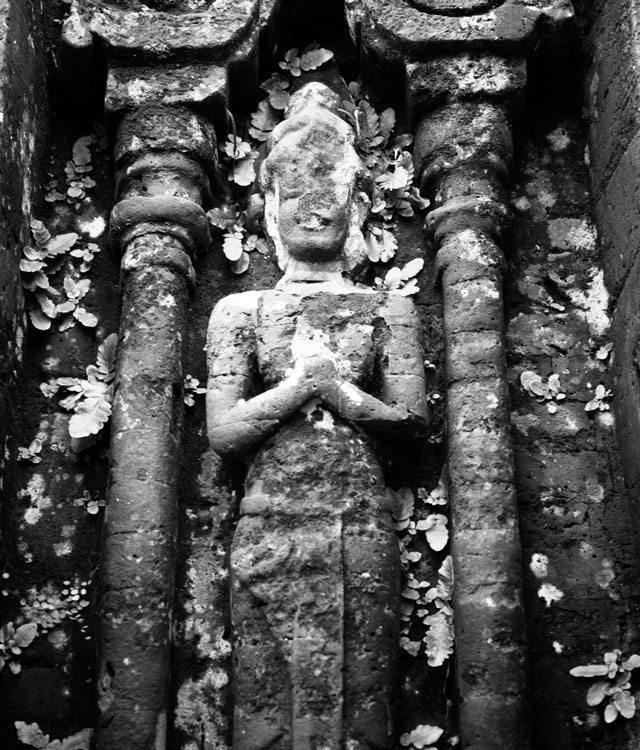 Old sculpture in Vietnam