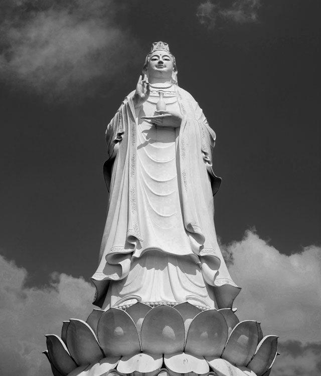 A statue in Vietnam