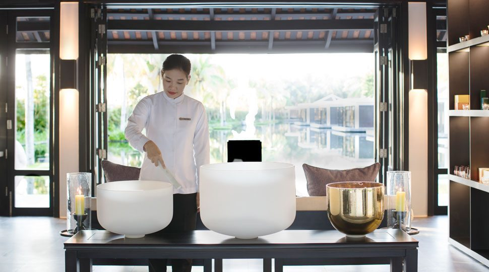 Single bowl therapy experience in Vietnam