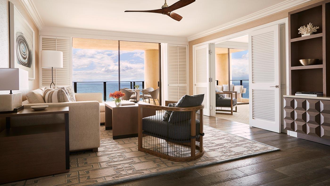 Ocean-Front Prime Suite