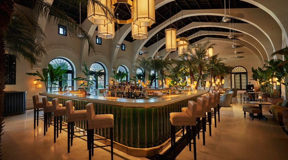 Champagne Bar at the Four Seasons Surf Club