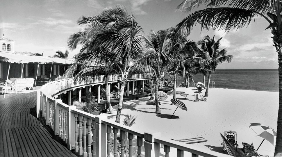 The Promenade for Cabana Row in the 1930s.