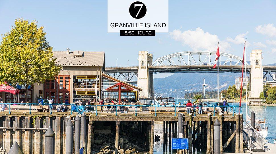 Granville Public Market in Vancouver, Canada.