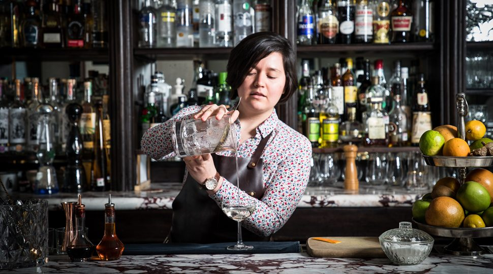 Four Seasons Mexico's Bartender Fatima Leon