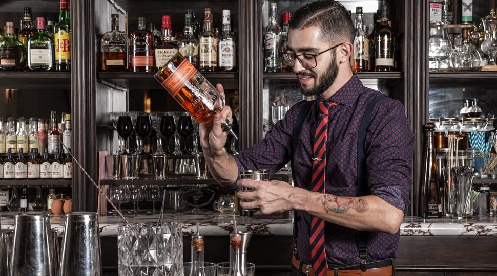 Four Seasons Mexico's head Mixologist Mica-Rousseau