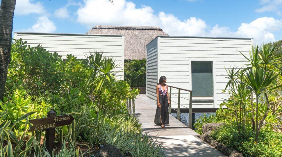 Private villas at the Four Seasons Mauritius.