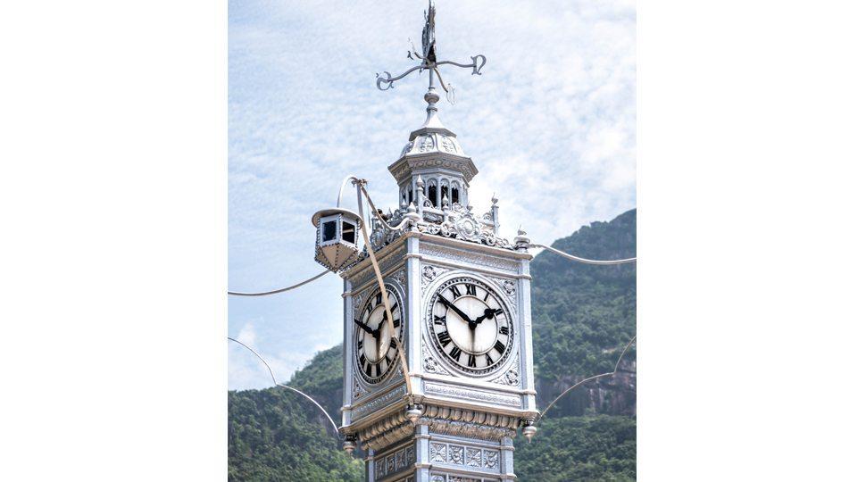 Clock in Victoria, Seychelles
