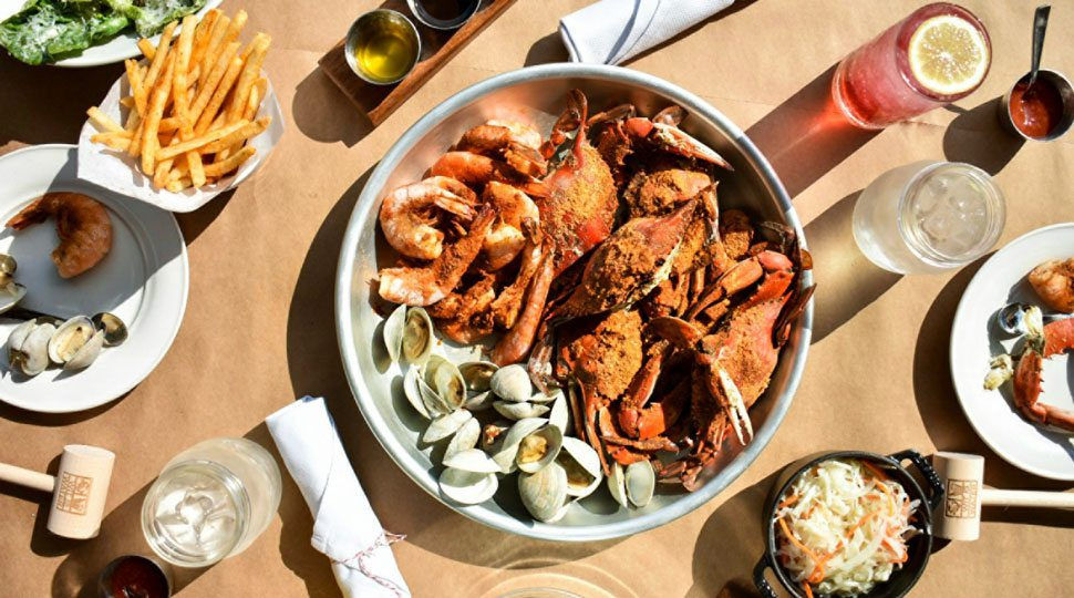 Baltimore crab feast