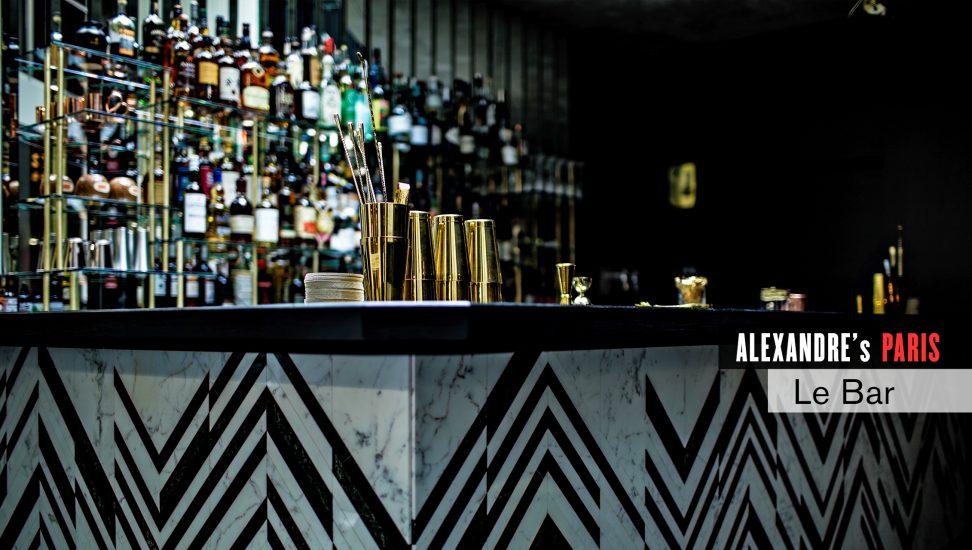 A bar in Paris