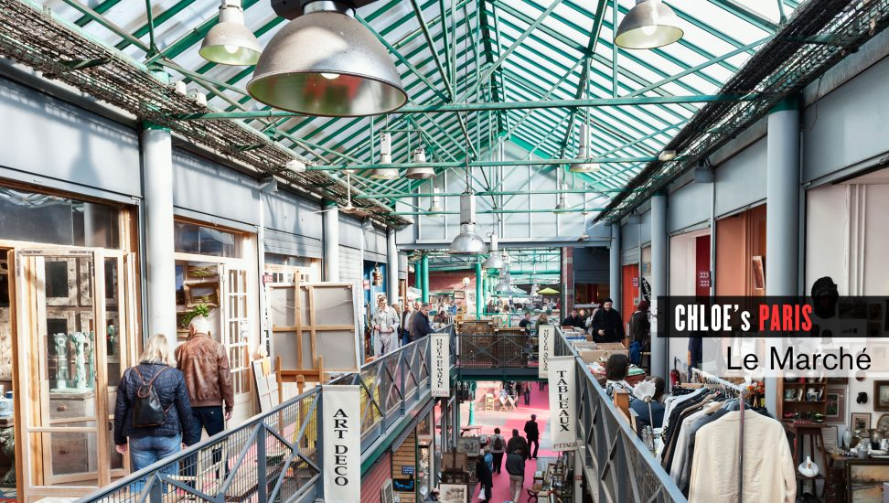 A market in Paris