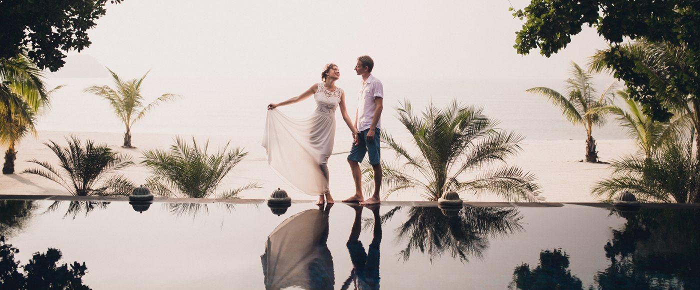 wedded bliss at Four Seasons Resort Langkawi, Malaysia
