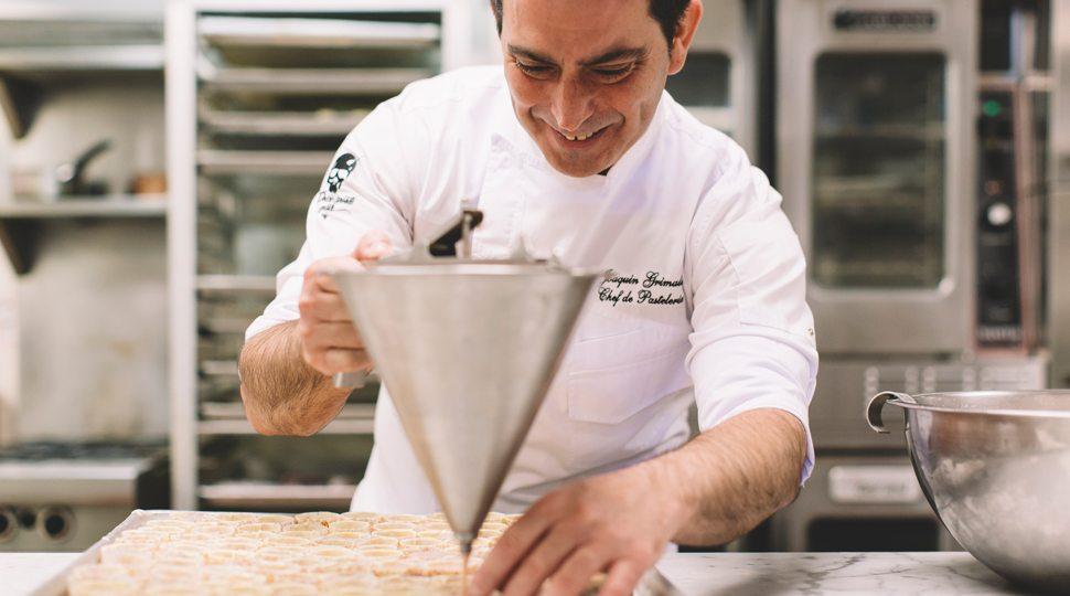 Pastry Chef Joaquin Grimaldi