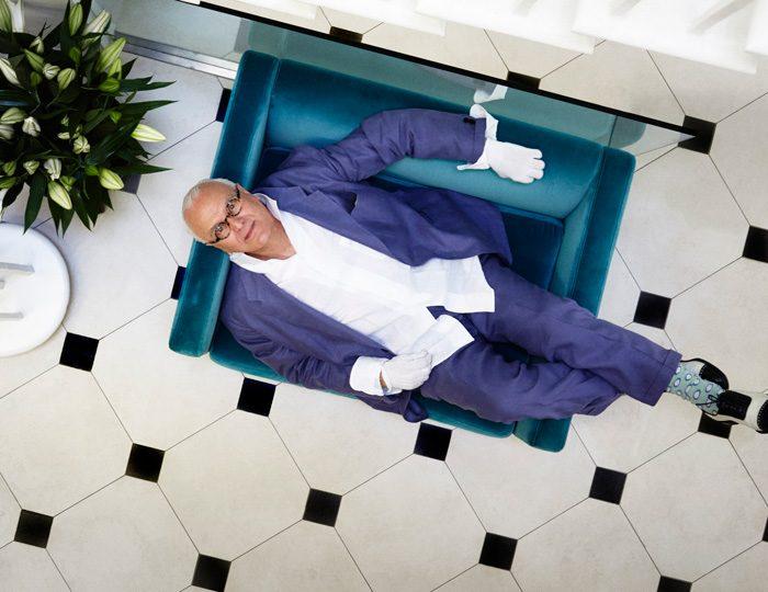 Iconic shoe designer Manolo Blahnik