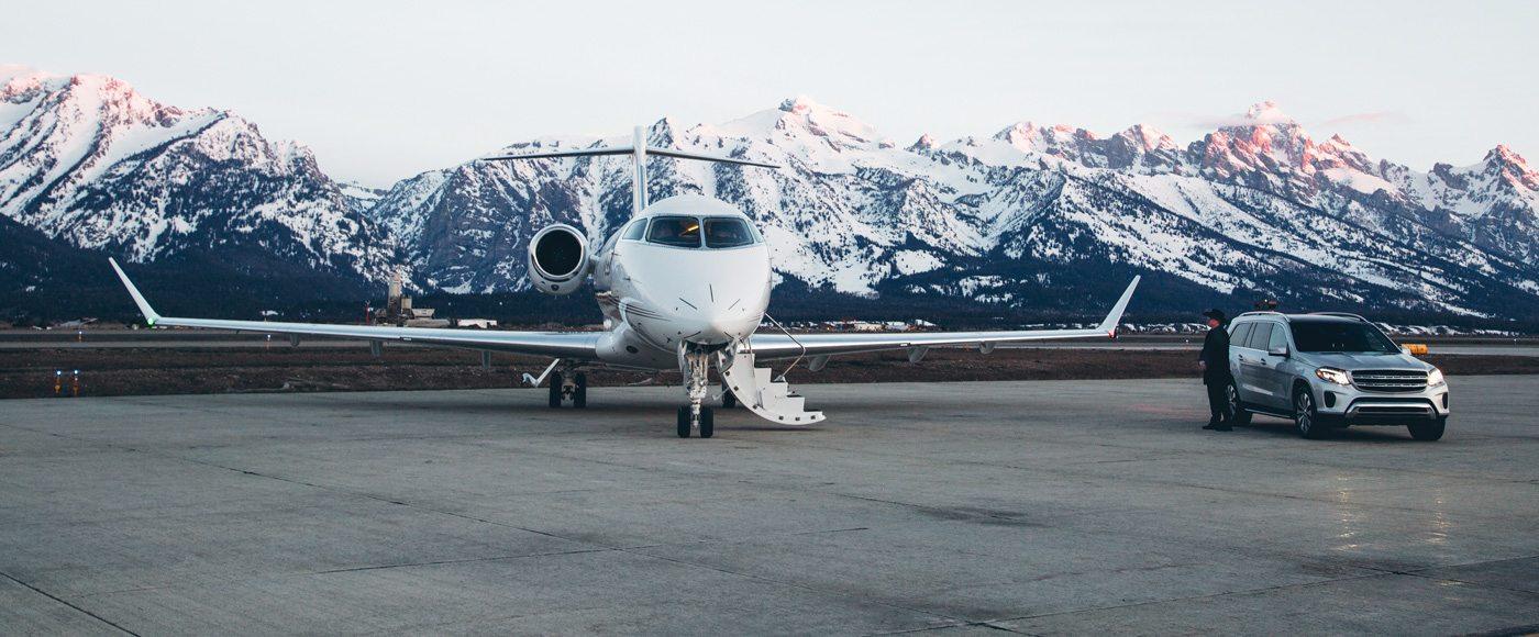 NetJets private jet