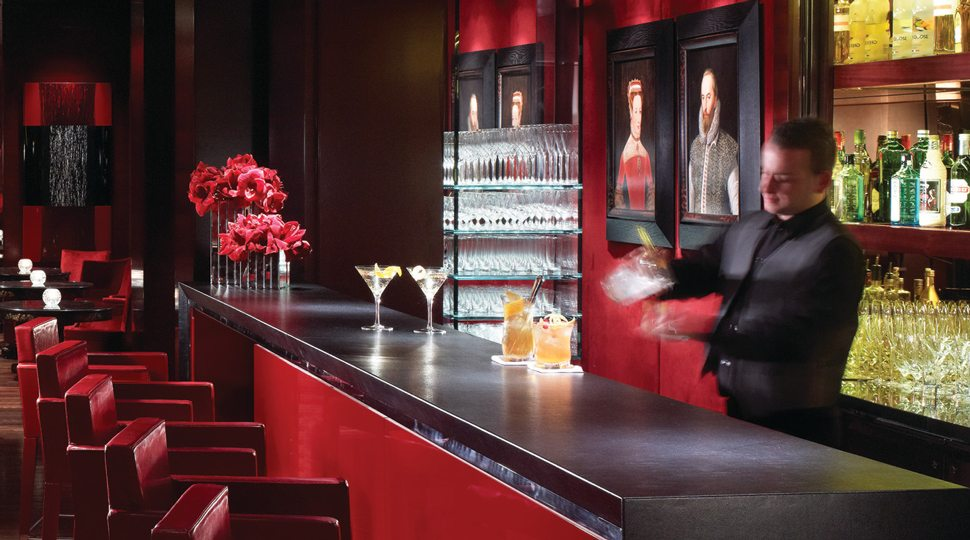 bartender at Four Seasons Hotel London Park Lane