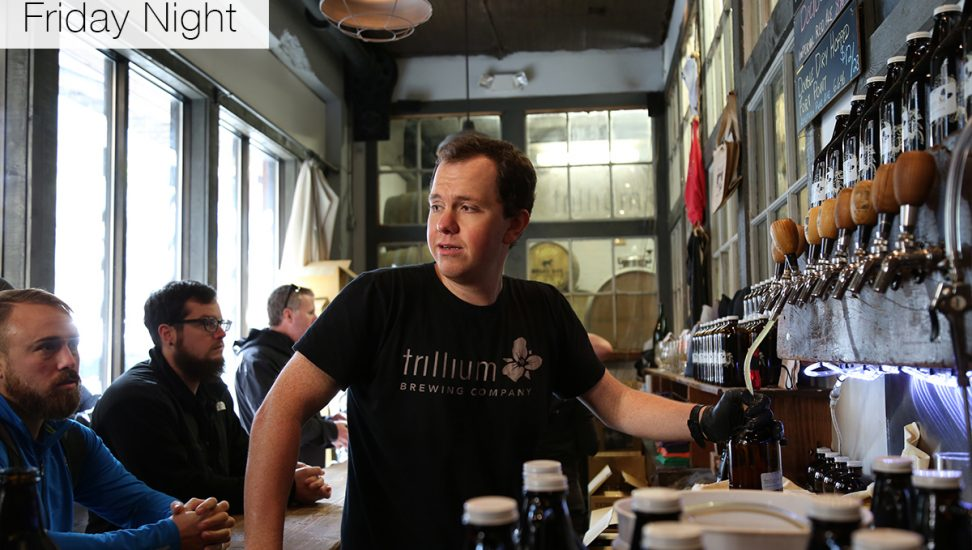 Bartender at Trillium Brewery
