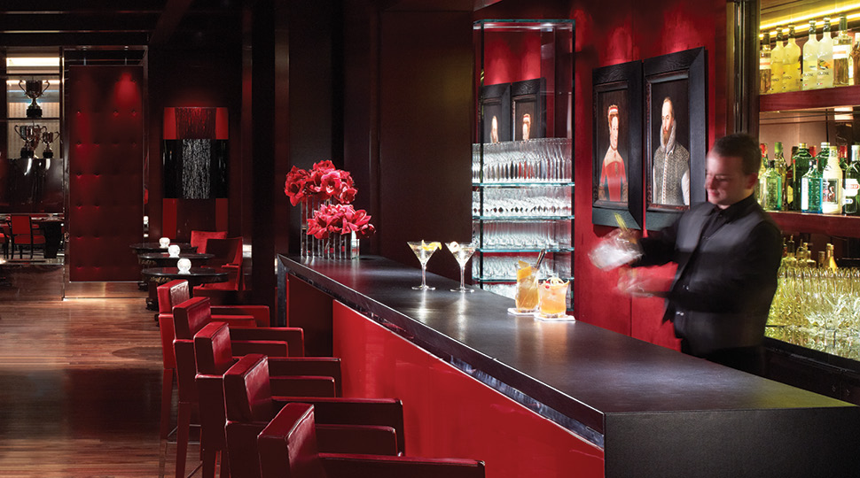 bartender at Four Seasons Hotel London Park Lane