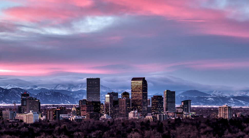 The City Of Denver Gets Chilly