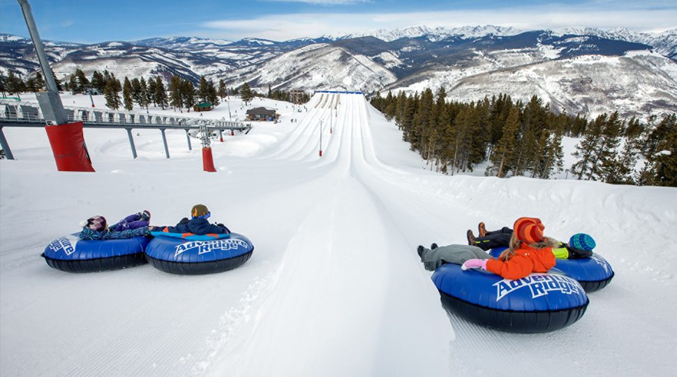 Tubing in Vail