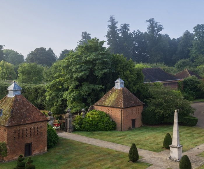 The garden at Four Seasons Hotel Hampshire