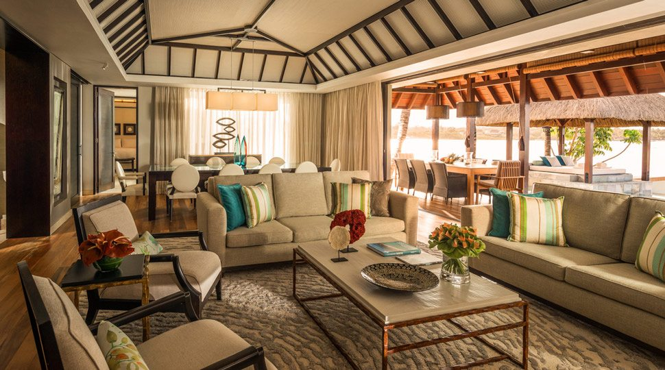 The Presidential Suite at Four Seasons Mauritius