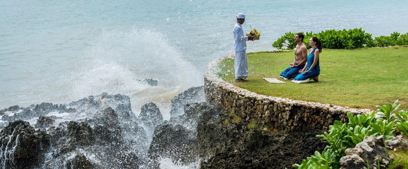 Spa ritual in Bali