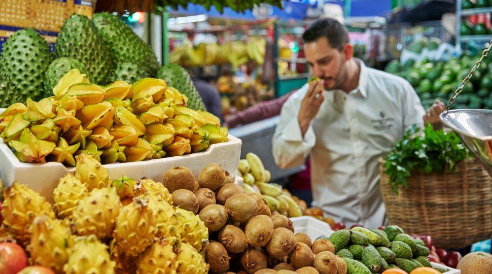 Bogotá market