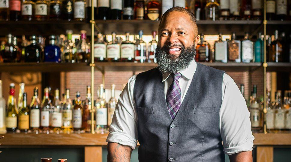 bartender Torrence Swain at Washington D.C.