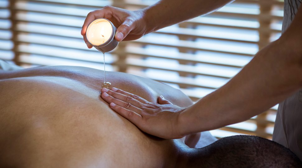 A spa treatment at Four Seasons Resort and Residences Whistler