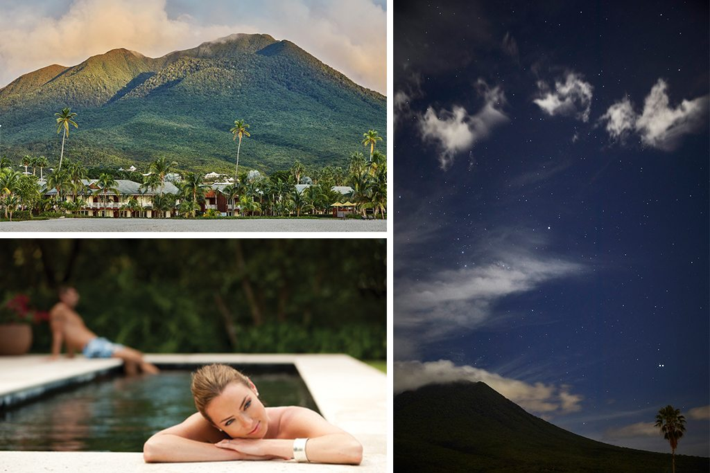 Private spa experience in Nevis