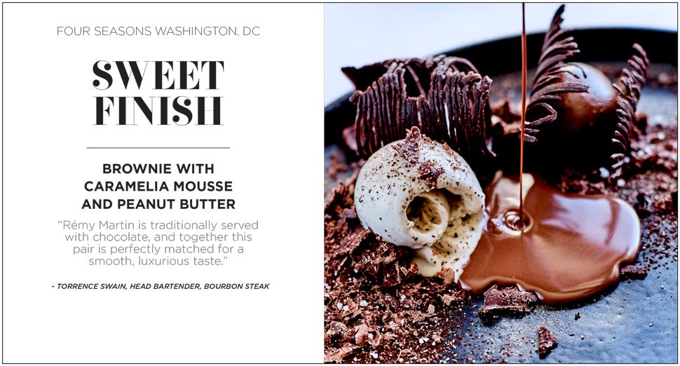 Chocolate Remy Martin pairing