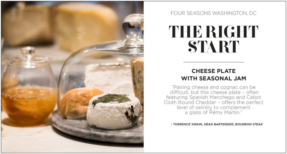 Cheese Remy Martin pairing