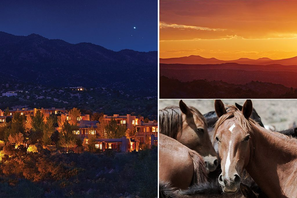 EQUUS and adobes in Santa Fe