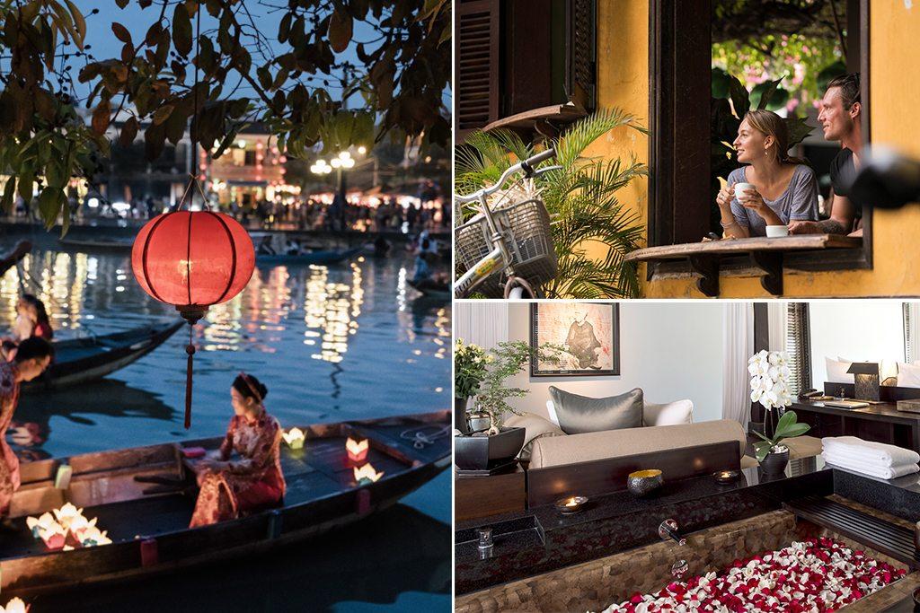 Lotus ponds and rose petal baths in Vietnam