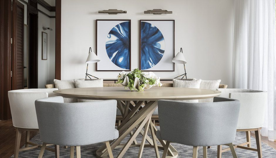 A dining area in a guest room of Four Seasons Resort Costa Rica at Peninsula Papagayo