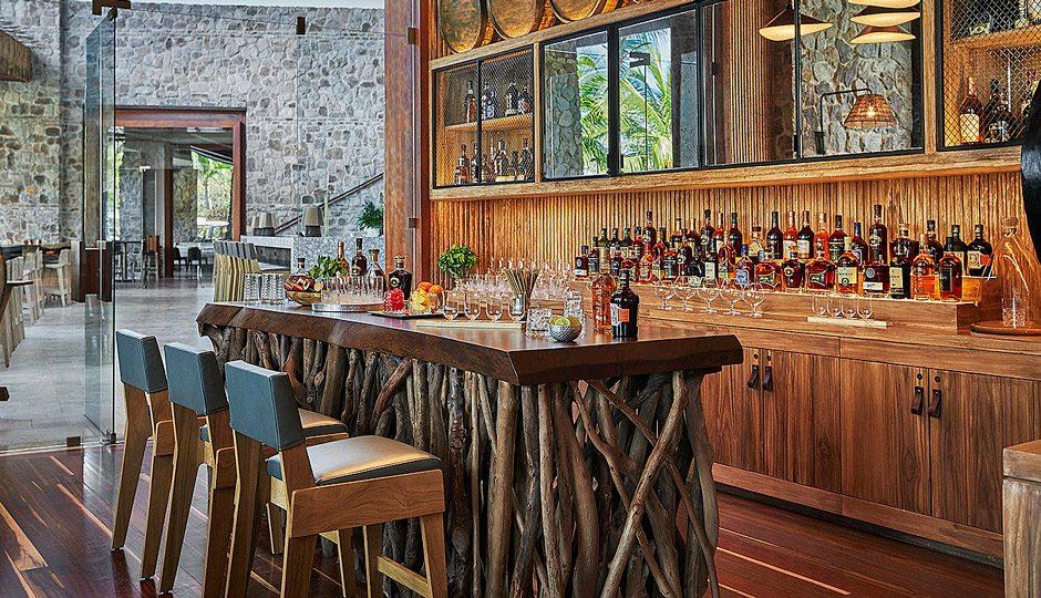 La Reserva rum bar at Four Seasons Resort Costa Rica at Peninsula Papagayo