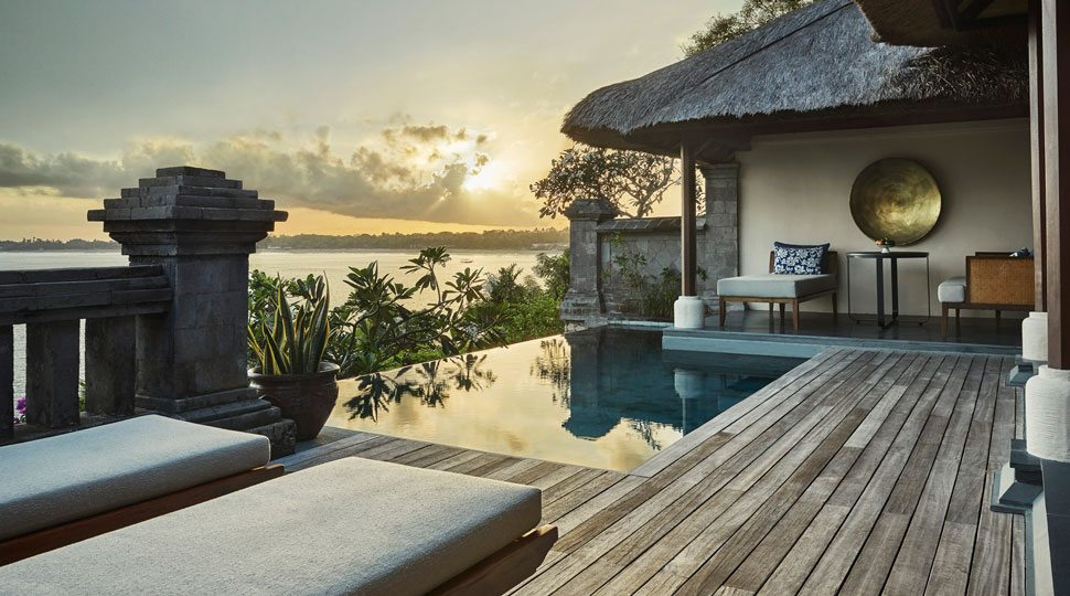 Plunge pool at Four Seasons Resort Bali at Jimbaran Bay