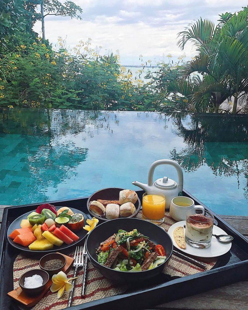 Plunge pool at Four Seasons Resort Bali at Jimbaran Bay