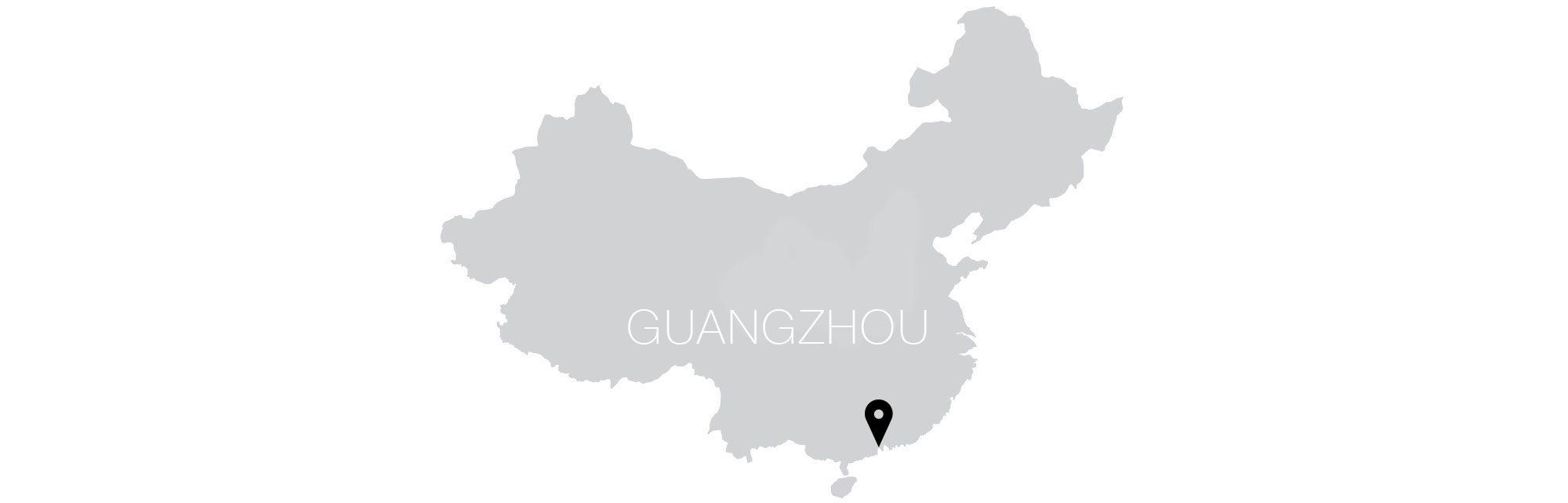 Guangzhou Map Text
