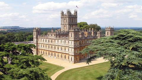 Explore Highclere Castle, <em>Downton Abbey</em>'s starring estate, on a private tour