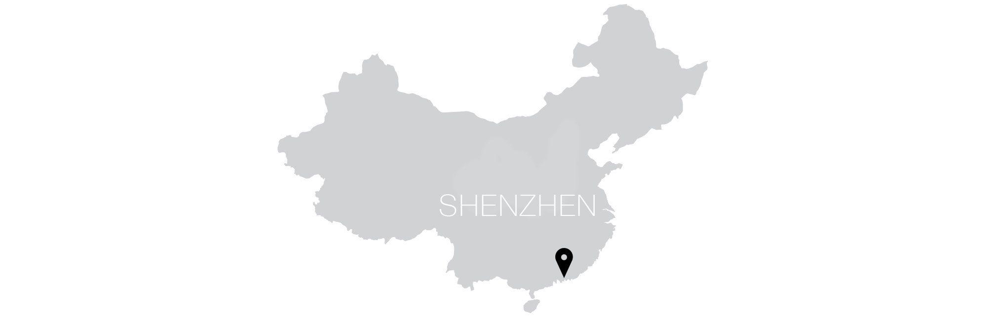 Shenzhen Map Text
