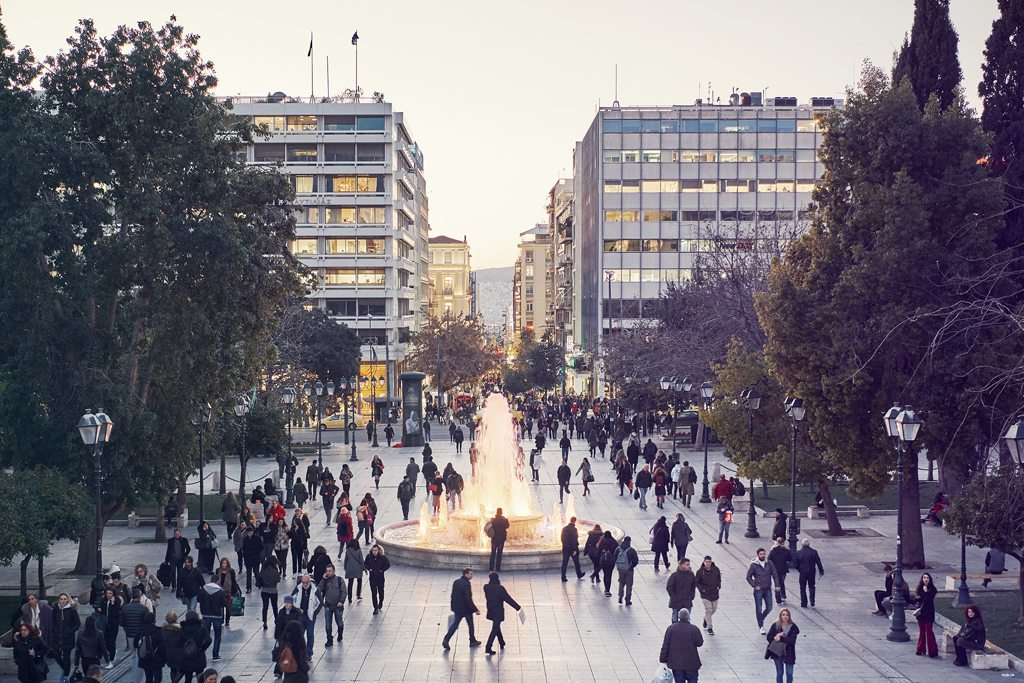 Syntagma Square in Athens