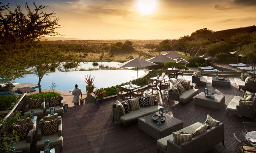 Infinity pool at Four Seasons Safari Lodge Serengeti