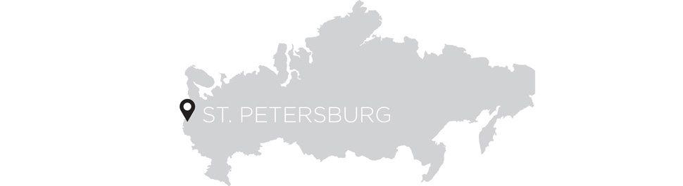 St. Petersburg map